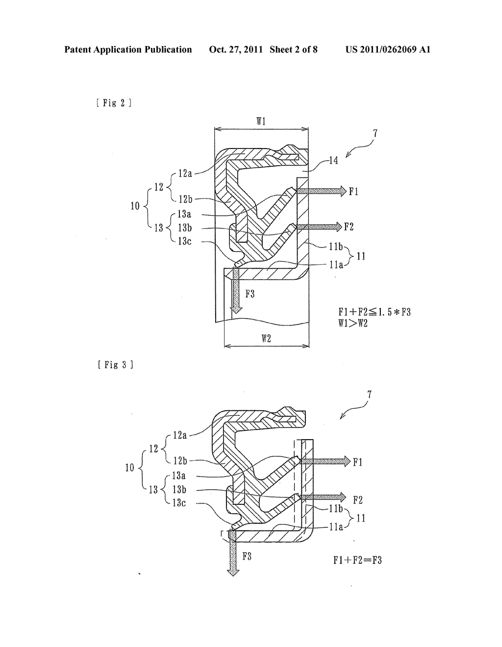 Wheel Bearing Seal And A Wheel Bearing Apparatus Provided With The Wheel  Bearing Seal - diagram, schematic, and image 03
