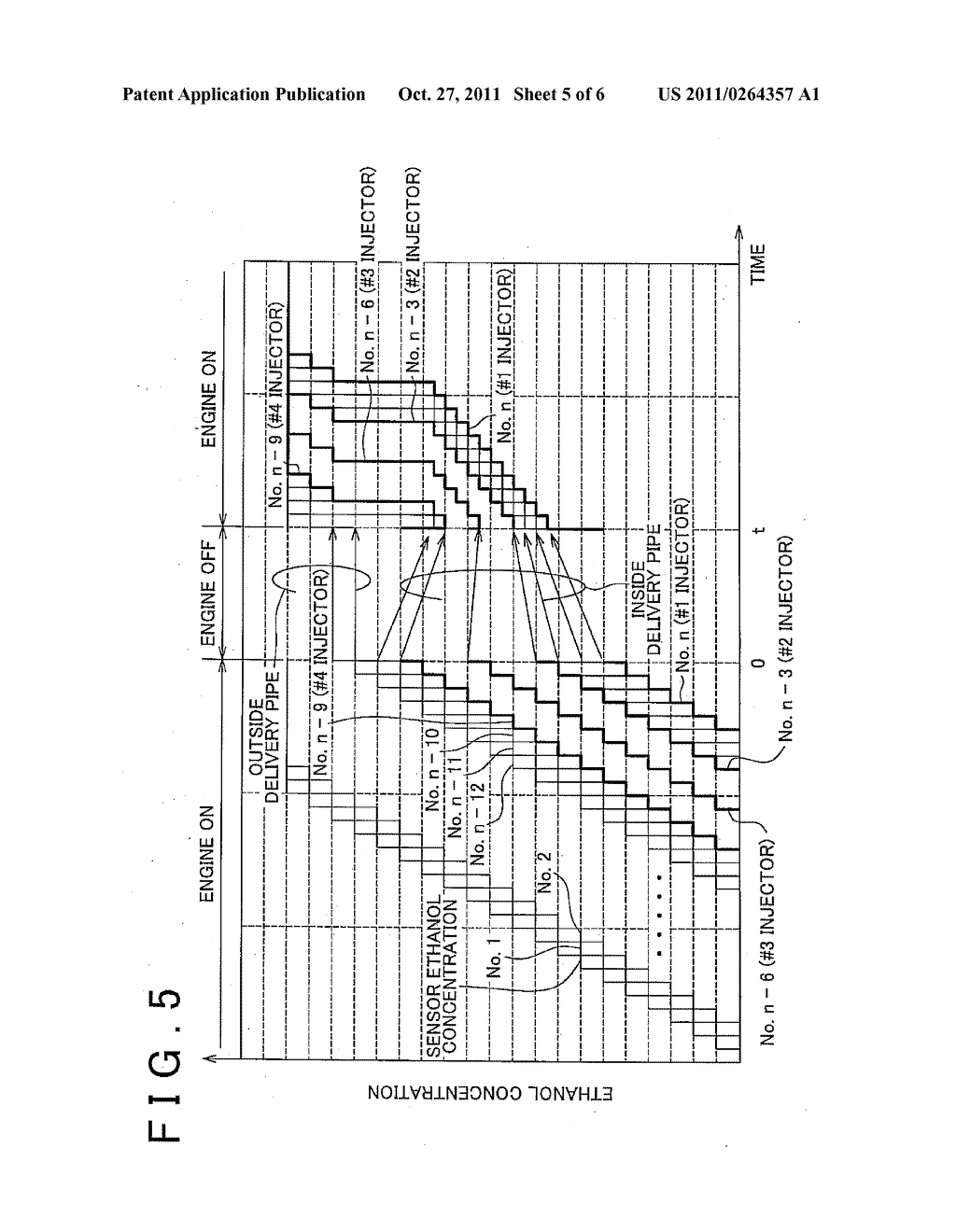 CONTROL APPARATUS FOR INTERNAL COMBUSTION ENGINE AND CONTROL METHOD FOR     INTERNAL COMBUSTION ENGINE - diagram, schematic, and image 06