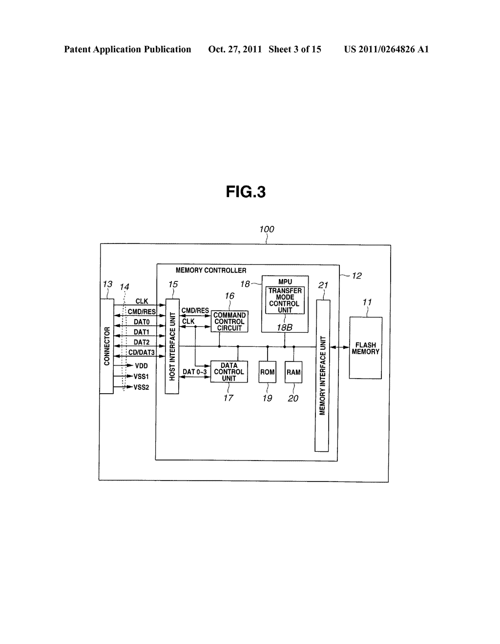 SEMICONDUCTOR MEMORY DEVICE AND CONTROL METHOD FOR SEMICONDUCTOR MEMORY     DEVICE - diagram, schematic, and image 04
