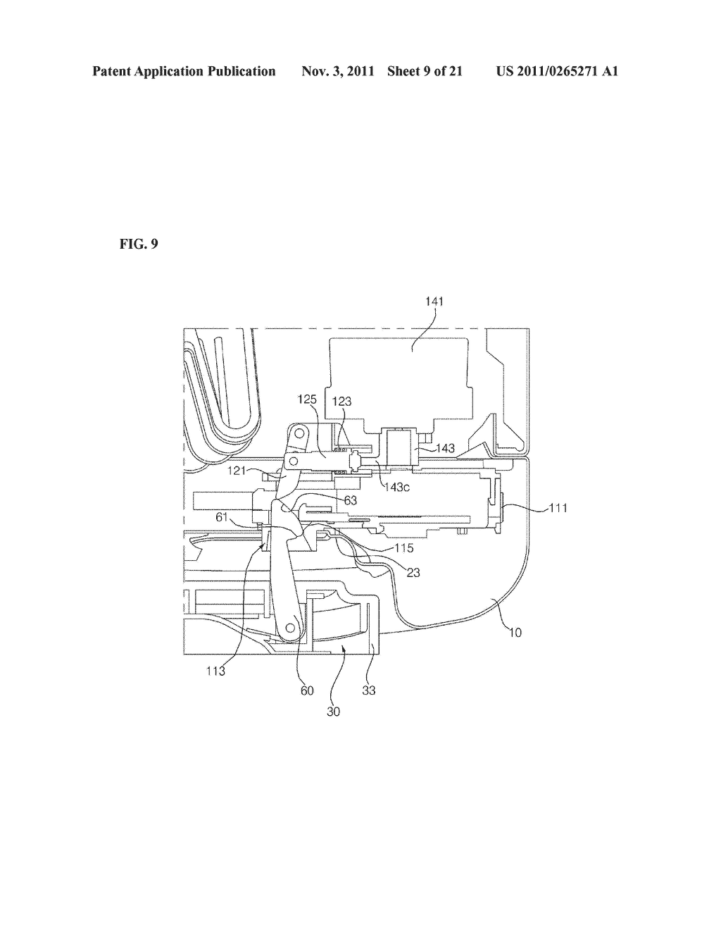 APPARATUS FOR TREATING LAUNDRY AND METHOD FOR CONTROLLING THE SAME - diagram, schematic, and image 10