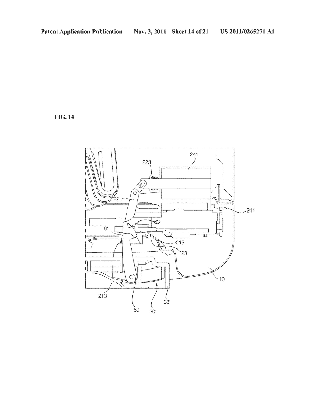APPARATUS FOR TREATING LAUNDRY AND METHOD FOR CONTROLLING THE SAME - diagram, schematic, and image 15