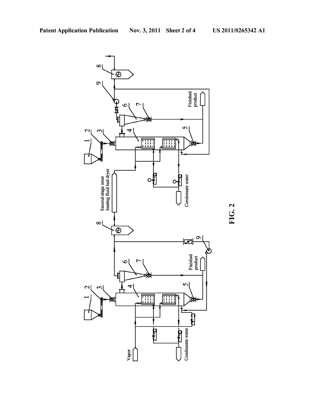 SUPERHEATED VAPOR PRE-DRYING SYSTEMS FOR LIGNITE AND METHODS FOR DRYING     LIGNITE - diagram, schematic, and image 03
