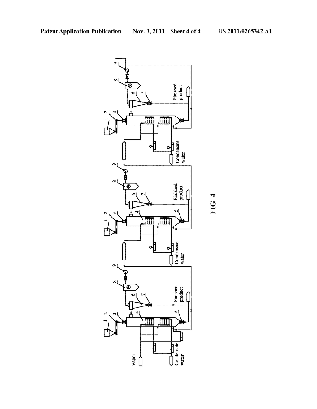 SUPERHEATED VAPOR PRE-DRYING SYSTEMS FOR LIGNITE AND METHODS FOR DRYING     LIGNITE - diagram, schematic, and image 05