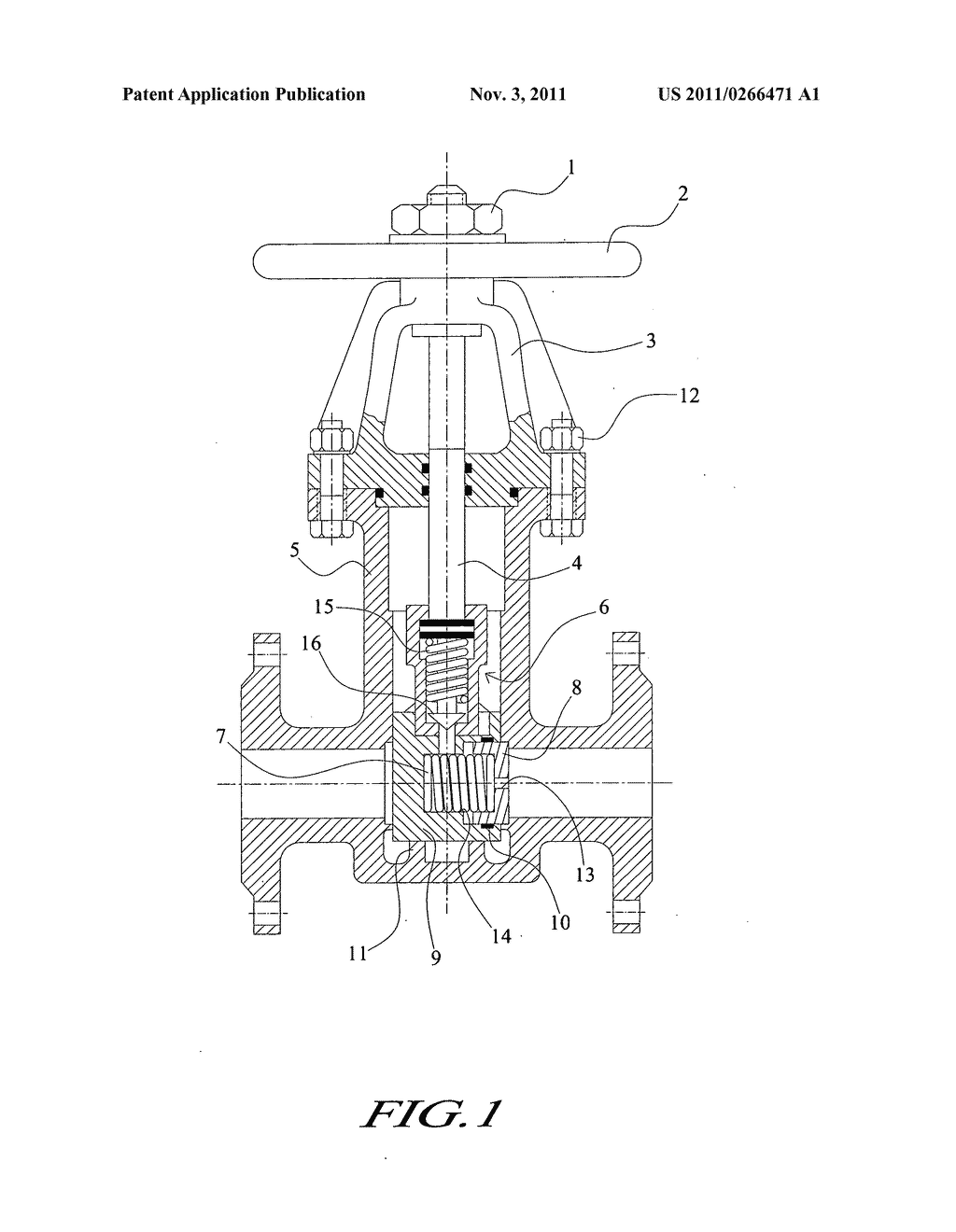 Piloted Middle High Pressure Gate Valve Diagram Schematic And
