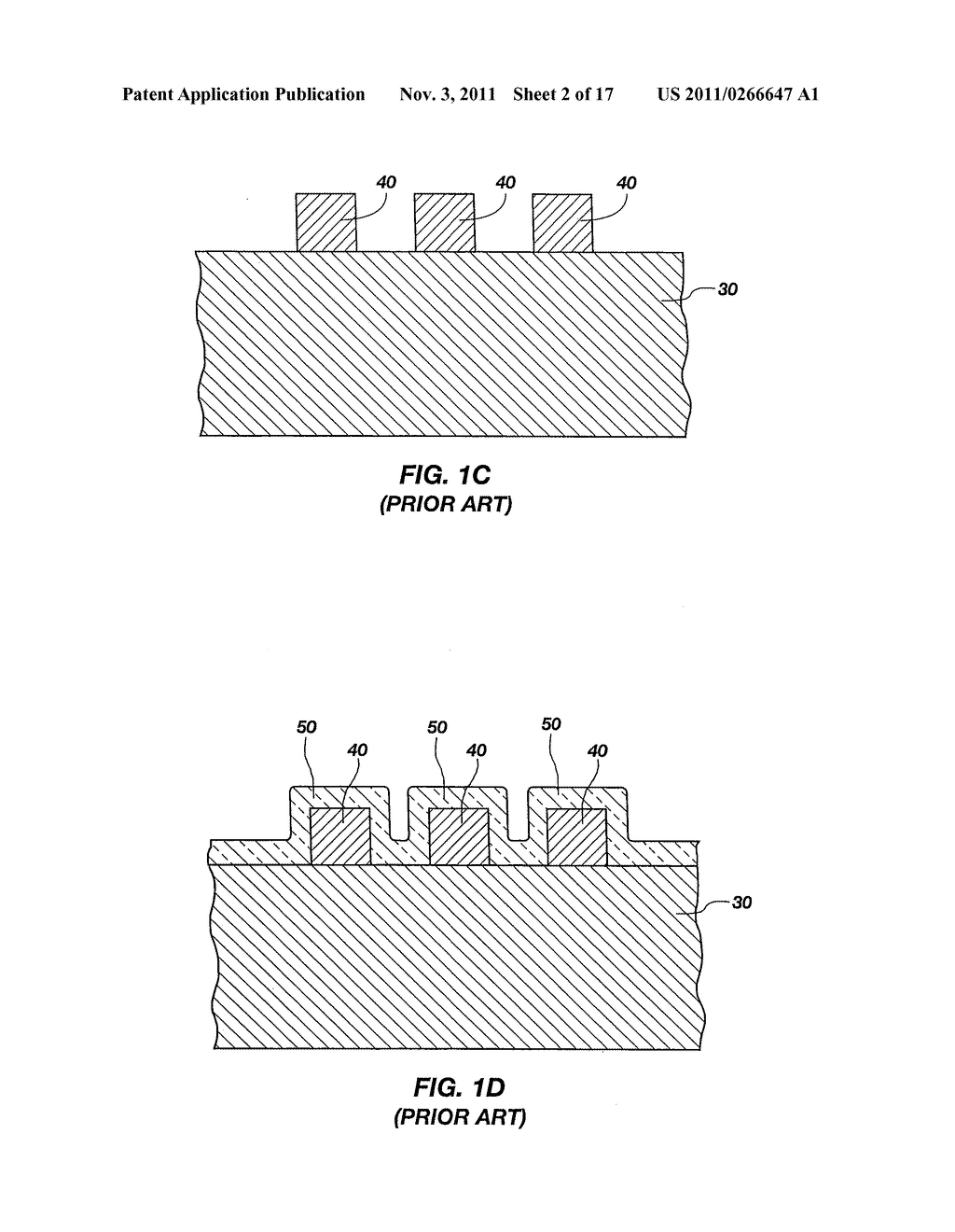 Methods of Forming Isolated Active Areas, Trenches, and Conductive Lines     in Semiconductor Structures and Semiconductor Structures Including the     Same - diagram, schematic, and image 03