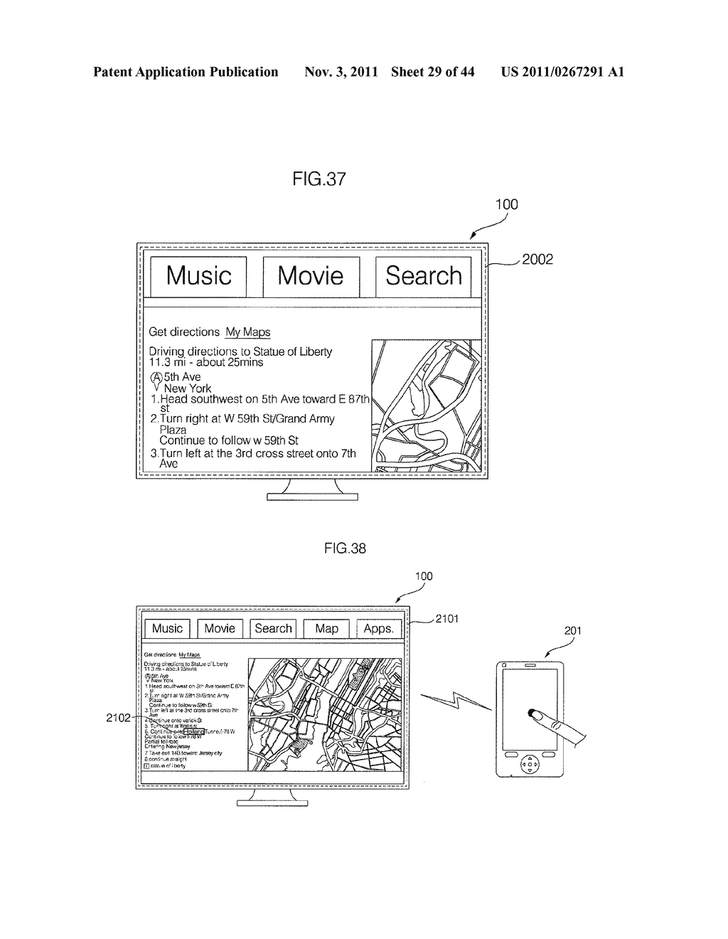 IMAGE DISPLAY APPARATUS AND METHOD FOR OPERATING THE SAME - diagram, schematic, and image 30