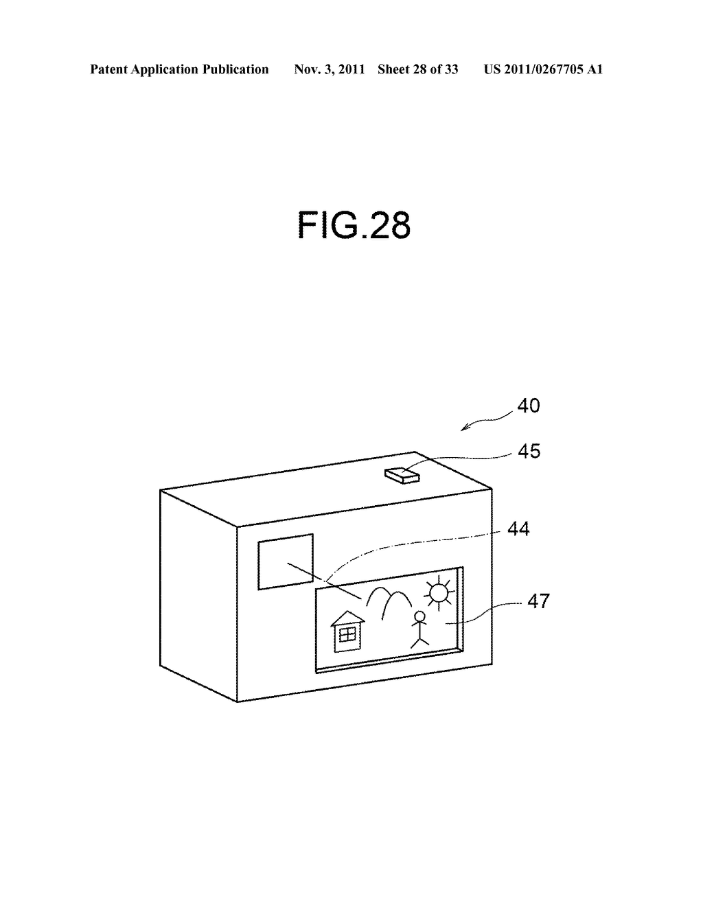 Image forming optical system and electronic image pickup apparatus     equipped with same - diagram, schematic, and image 29
