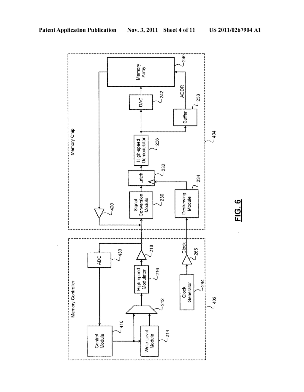 HIGH SPEED INTERFACE FOR MULTI-LEVEL MEMORY - diagram, schematic, and image 05