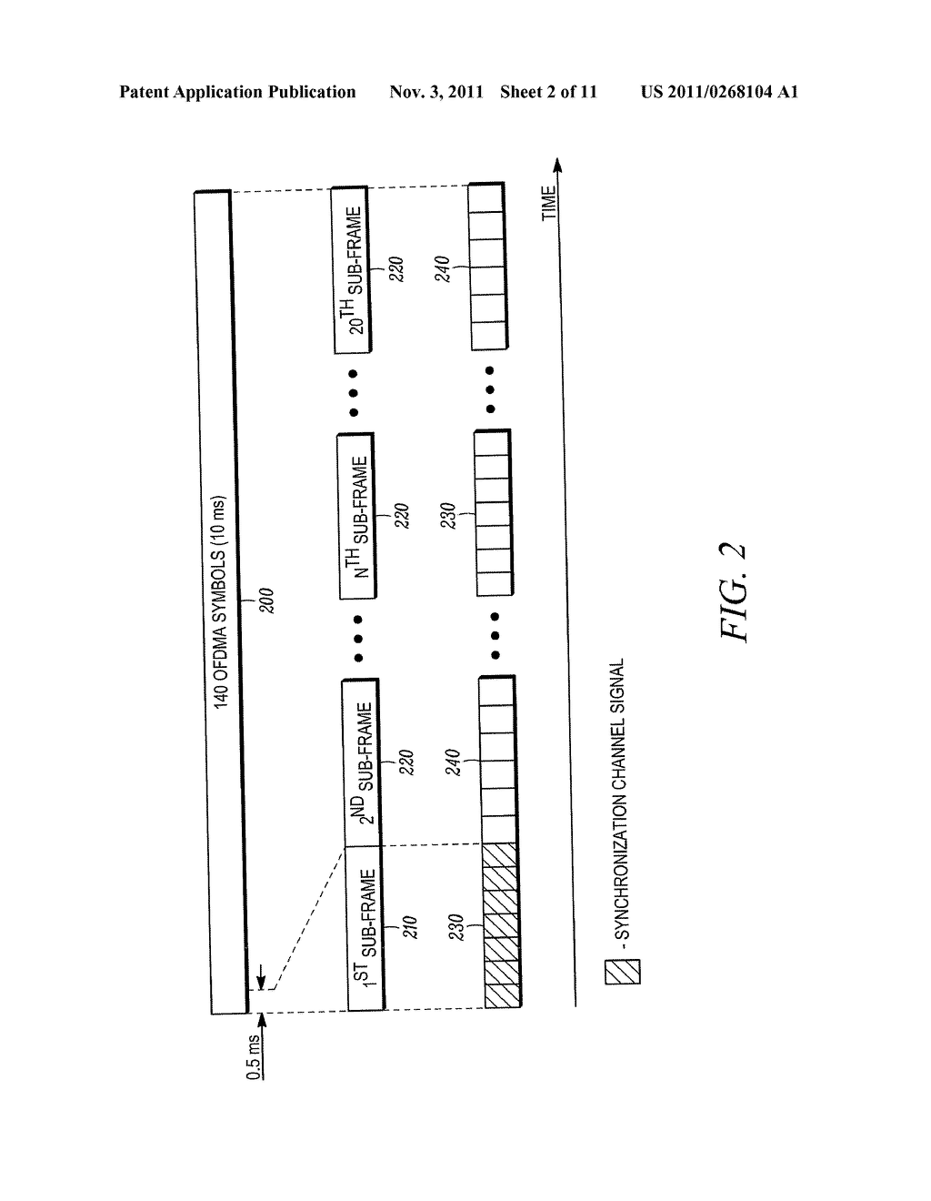 METHOD AND APPARATUS FOR INITIAL ACQUISITION AND CELL SEARCH FOR AN OFDMA     SYSTEM - diagram, schematic, and image 03