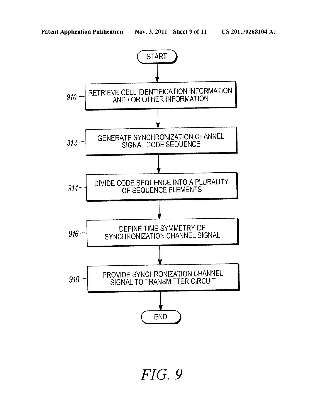 METHOD AND APPARATUS FOR INITIAL ACQUISITION AND CELL SEARCH FOR AN OFDMA     SYSTEM - diagram, schematic, and image 10