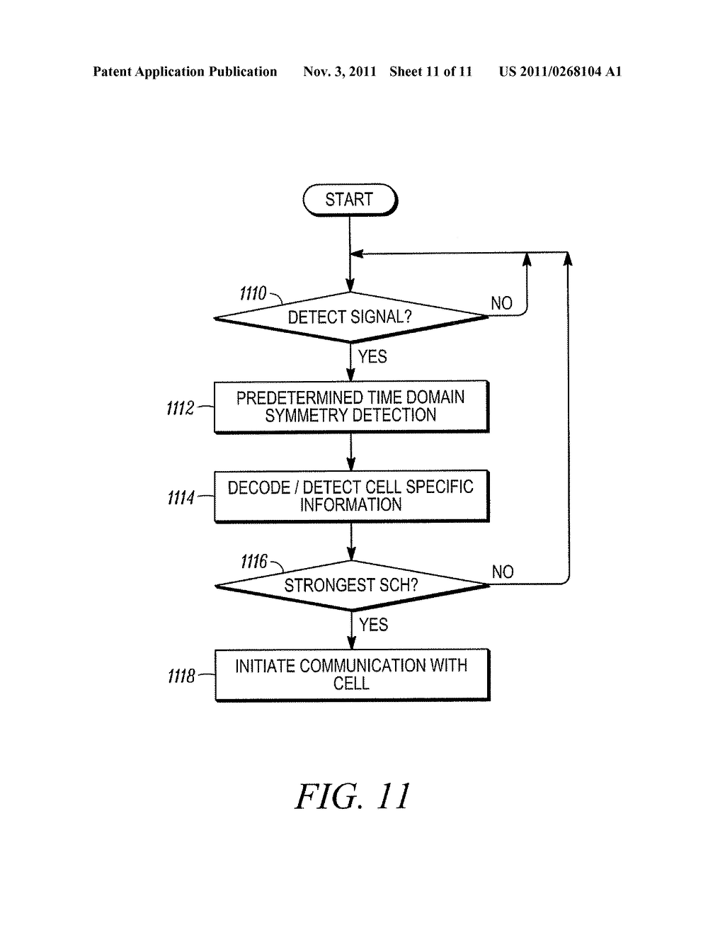 METHOD AND APPARATUS FOR INITIAL ACQUISITION AND CELL SEARCH FOR AN OFDMA     SYSTEM - diagram, schematic, and image 12