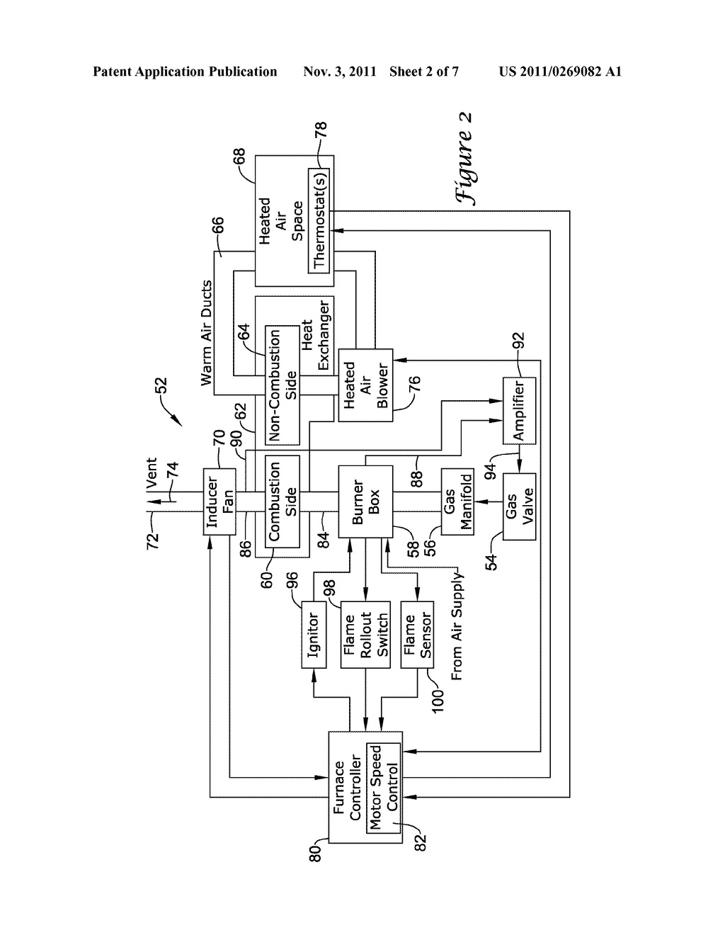 Gas Pressure Control For Warm Air Furnaces Diagram Schematic And Furnace Image 03