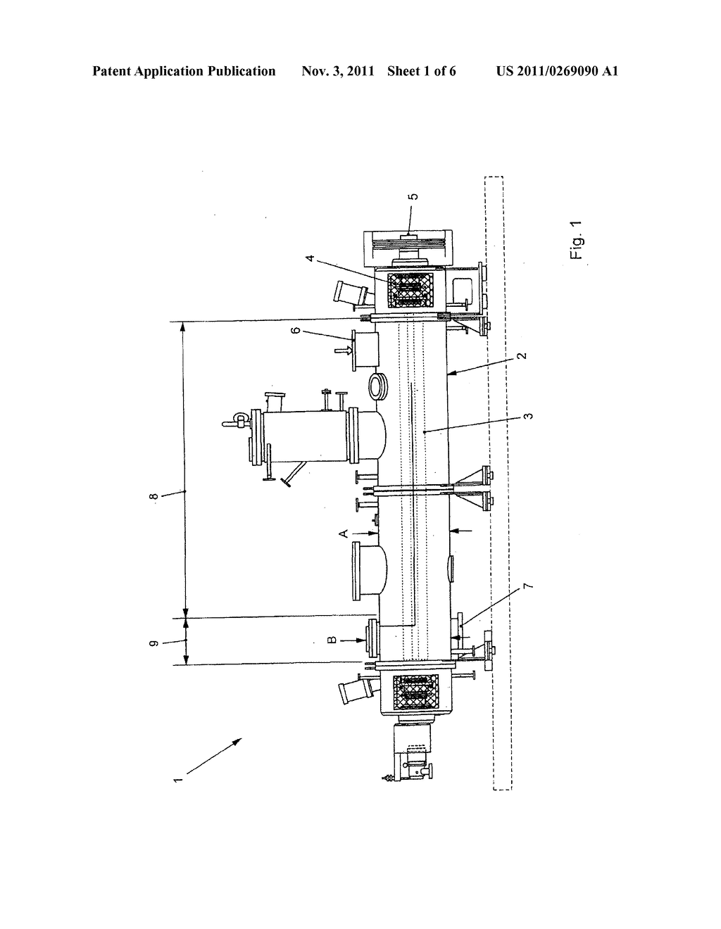 DEVICE FOR TREATING A PRODUCT - diagram, schematic, and image 02