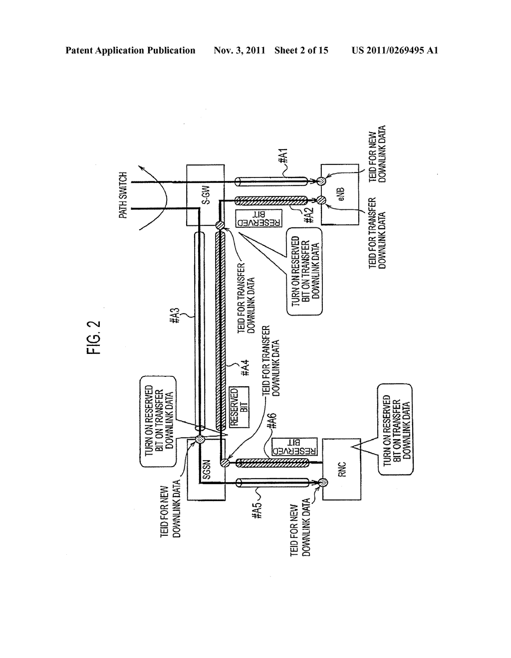 MOBILE COMMUNICATION METHOD, RADIO ACCESS APPARATUS, AND GATEWAY APPARATUS - diagram, schematic, and image 03