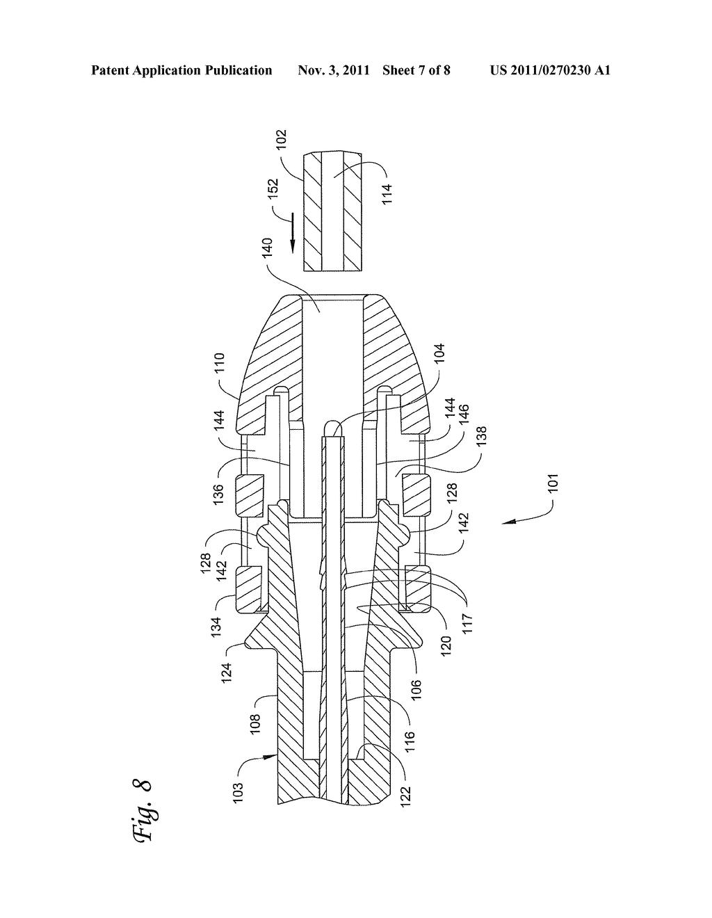 CATHETER CONNECTORS AND SYSTEMS, AND METHODS OF USING SAME - diagram, schematic, and image 08