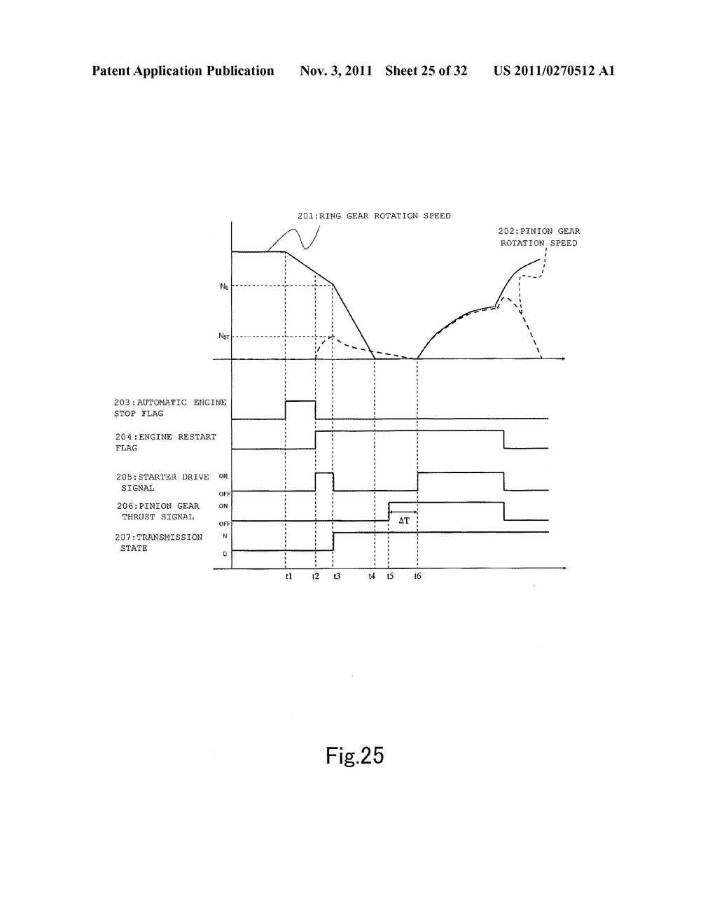 AUTOMATIC STOP AND RESTART DEVICE FOR AN ENGINE - diagram, schematic, and image 26
