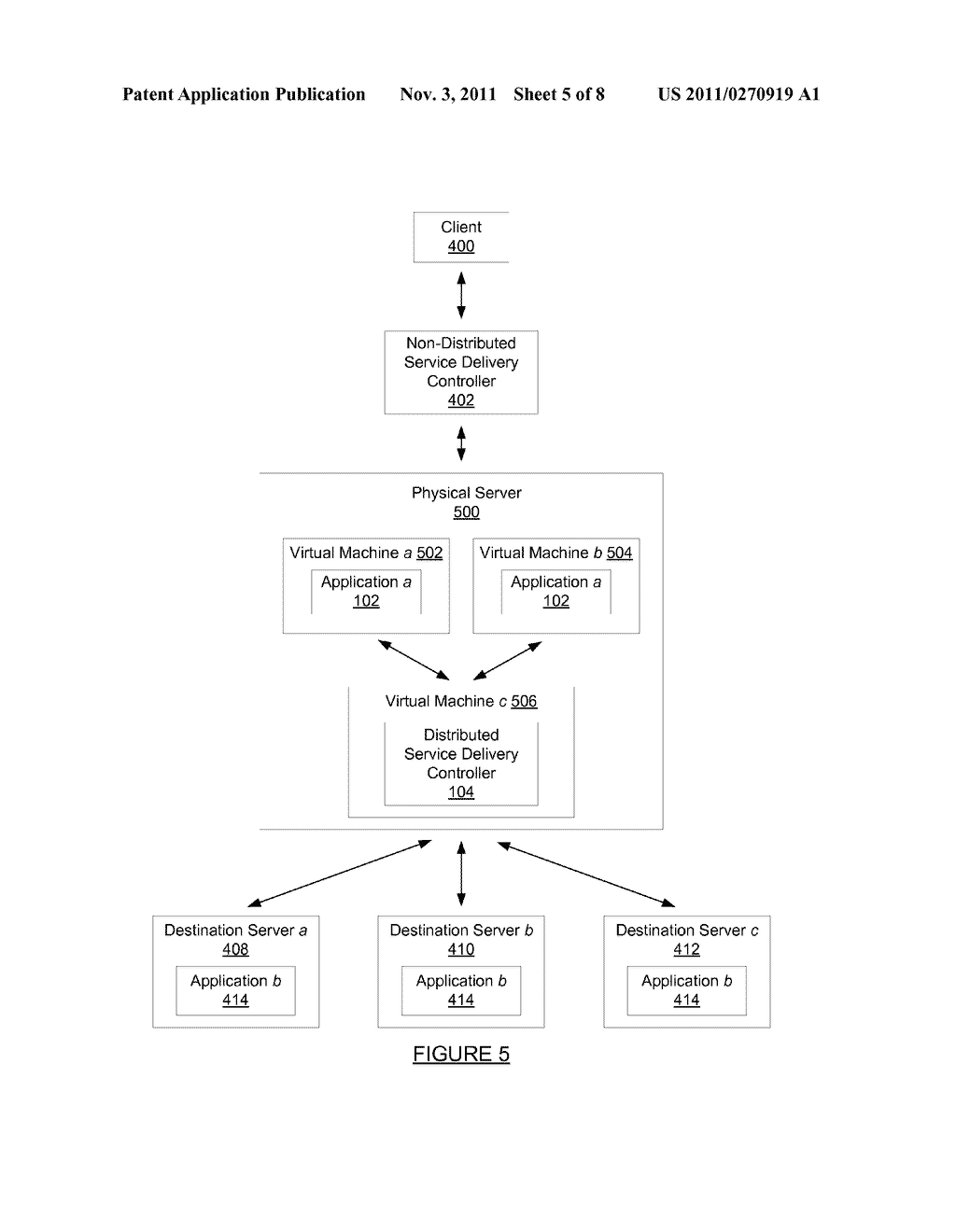 METHOD AND SYSTEM FOR PROCESSING A REQUEST SENT OVER A NETWORK - diagram, schematic, and image 06