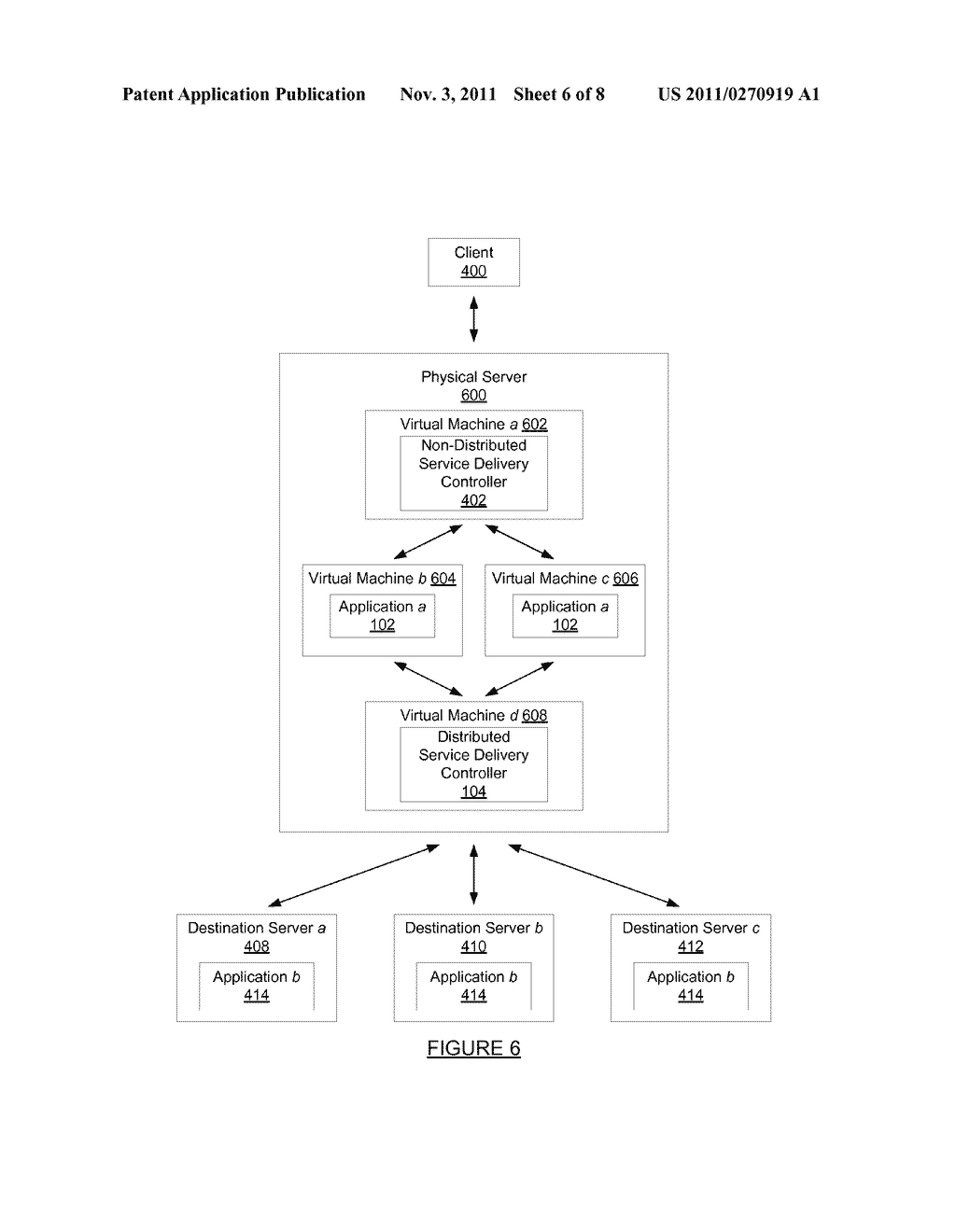 METHOD AND SYSTEM FOR PROCESSING A REQUEST SENT OVER A NETWORK - diagram, schematic, and image 07