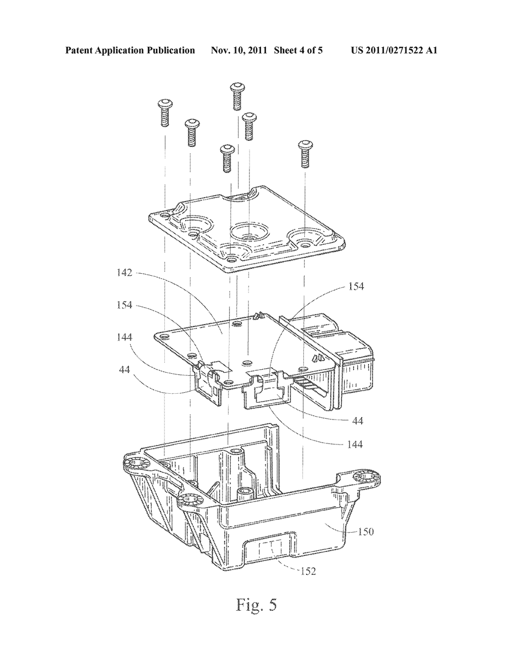 METHOD FOR MAKING AN ELECTRONIC ASSEMBLY - diagram, schematic, and image 05