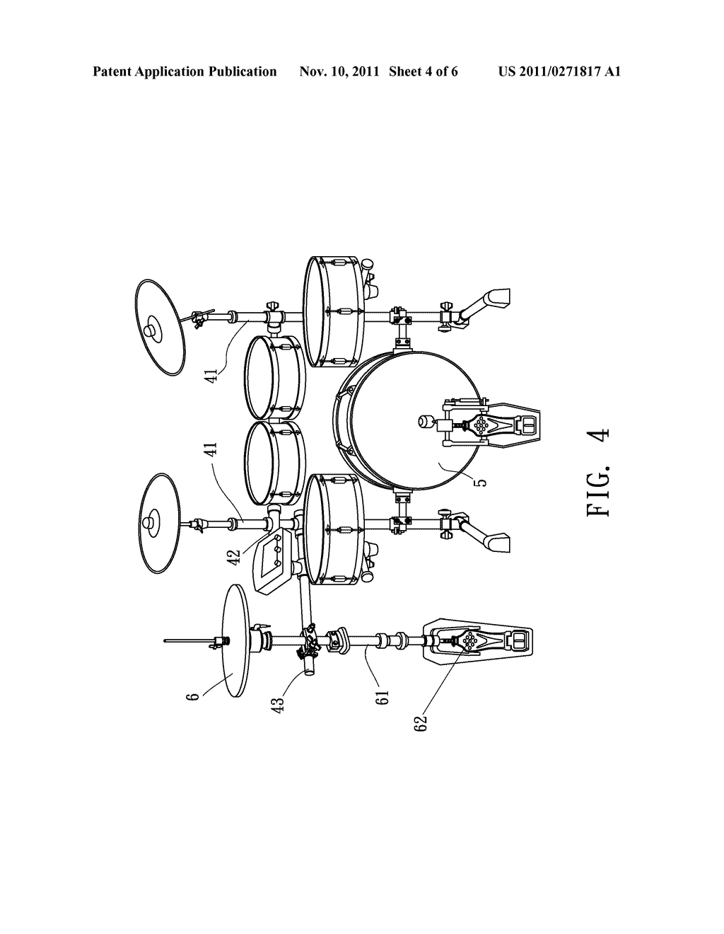 drum kit rack system diagram schematic and image 05 rh patentsencyclopedia com drum kit diagram with labels drum kit diagram with labels