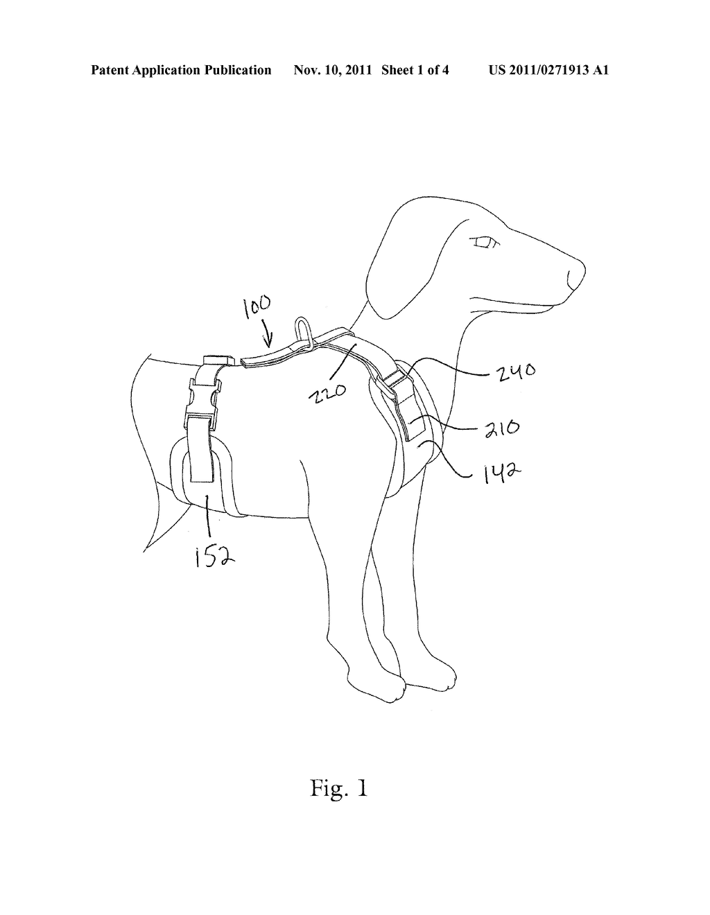 DOG HARNESS - diagram, schematic, and image 02