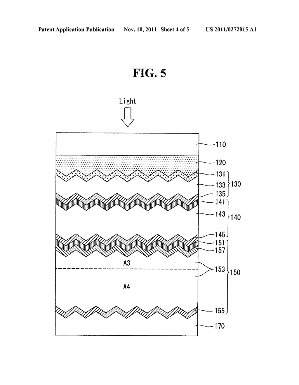 THIN FILM SOLAR CELL AND METHOD FOR MANUFACTURING THE SAME - diagram, schematic, and image 05