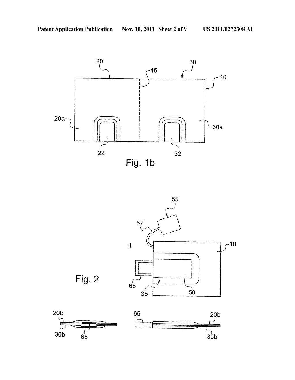USB DEVICE HOLDER AND PRINTED MEDIUM SUPPORT CONTAINING THE SAME - diagram, schematic, and image 03