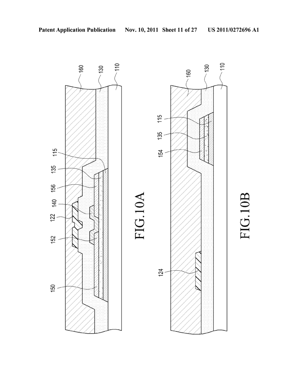 THIN FILM TRANSISTOR PANEL AND FABRICATING METHOD THEREOF - diagram, schematic, and image 12