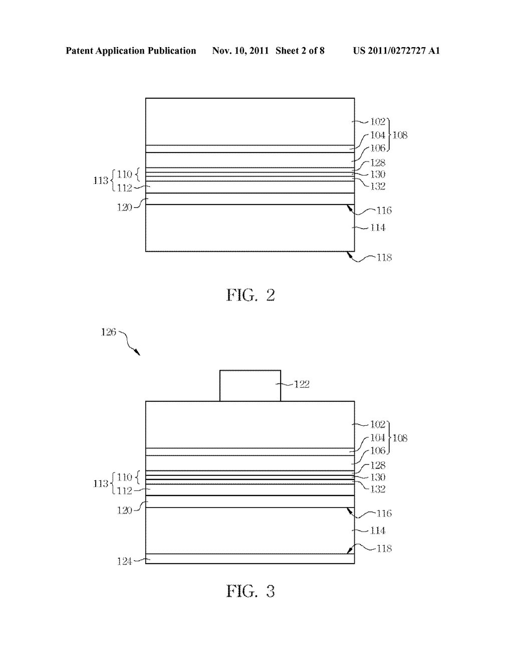 LIGHT-EMITTING DIODE AND METHOD FOR MANUFACTURING THE SAME - diagram, schematic, and image 03