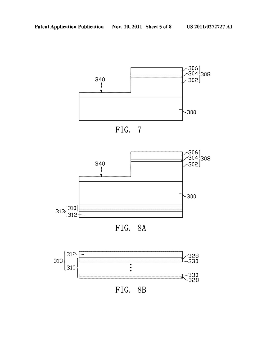 LIGHT-EMITTING DIODE AND METHOD FOR MANUFACTURING THE SAME - diagram, schematic, and image 06