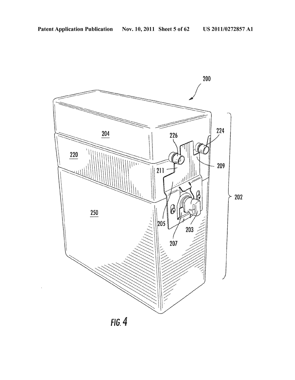 Elevator and Method for Tilting Solid Image Build Platform for Reducing     Air Entrainment and for Build Release - diagram, schematic, and image 06