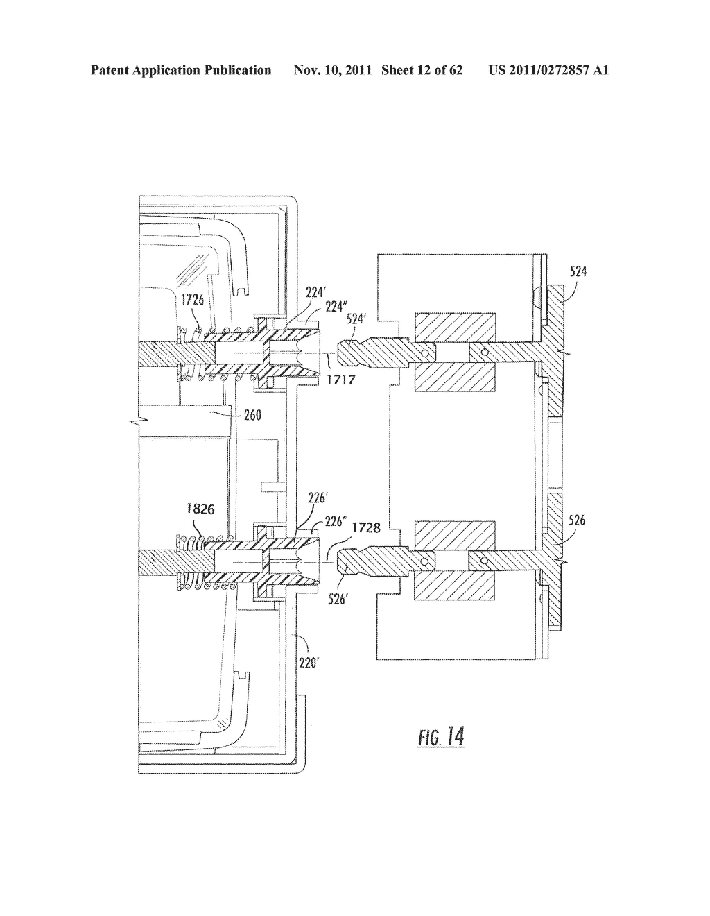 Elevator and Method for Tilting Solid Image Build Platform for Reducing     Air Entrainment and for Build Release - diagram, schematic, and image 13