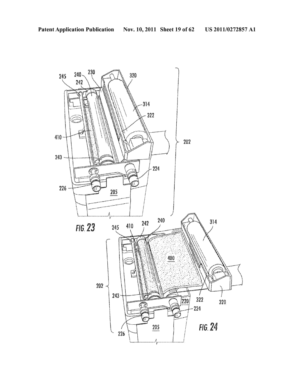 Elevator and Method for Tilting Solid Image Build Platform for Reducing     Air Entrainment and for Build Release - diagram, schematic, and image 20