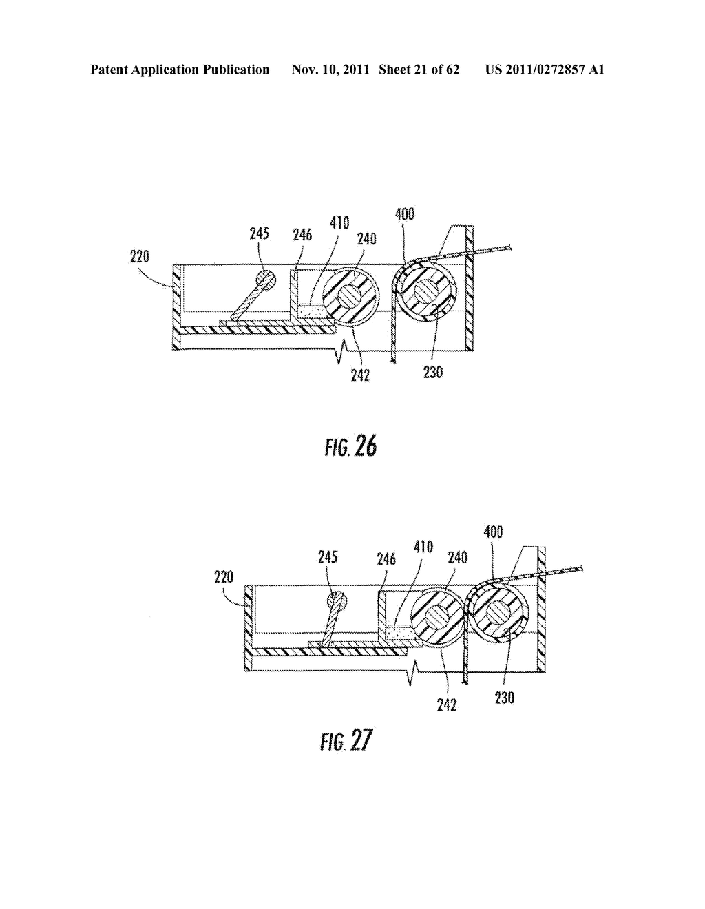 Elevator and Method for Tilting Solid Image Build Platform for Reducing     Air Entrainment and for Build Release - diagram, schematic, and image 22