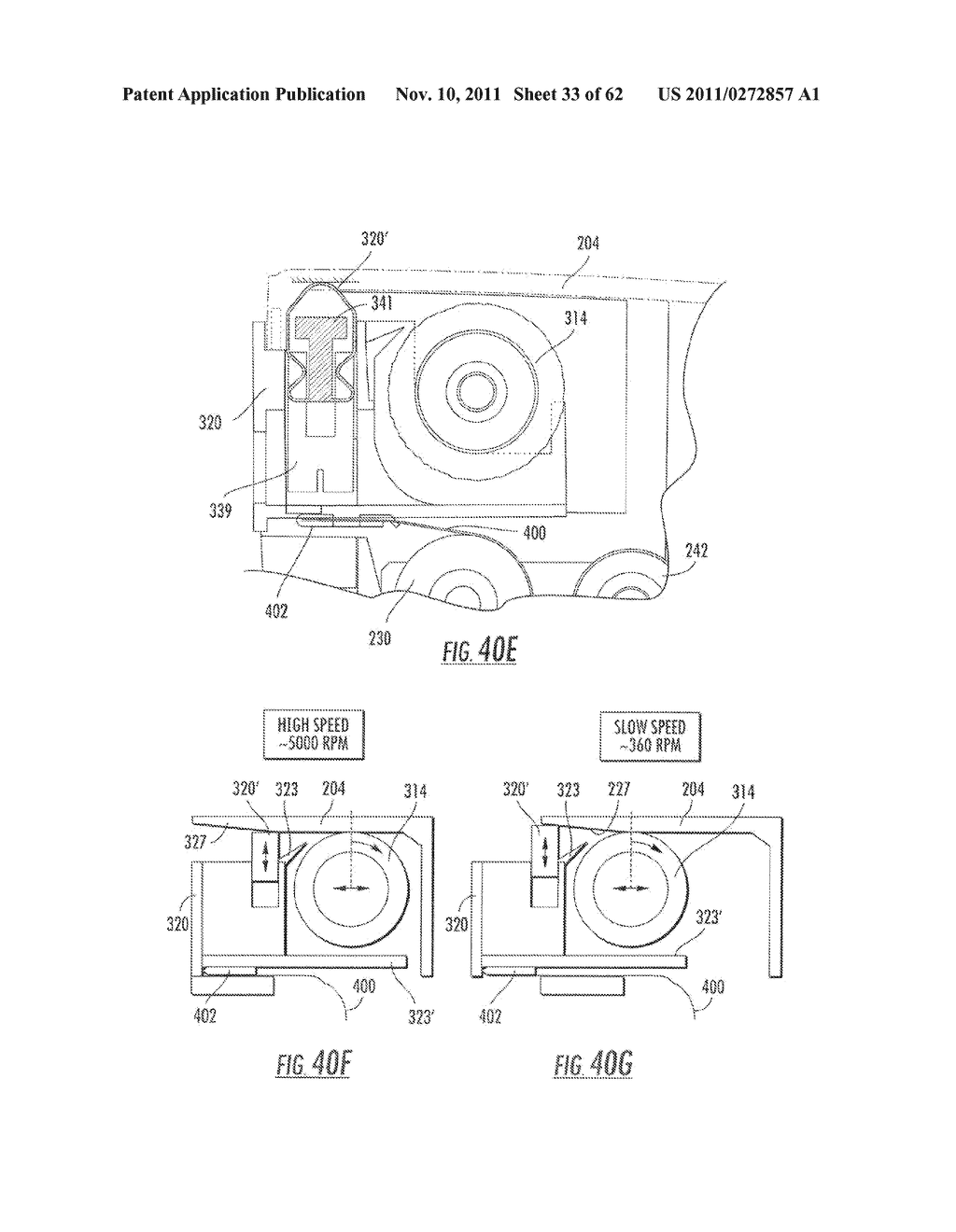 Elevator and Method for Tilting Solid Image Build Platform for Reducing     Air Entrainment and for Build Release - diagram, schematic, and image 34