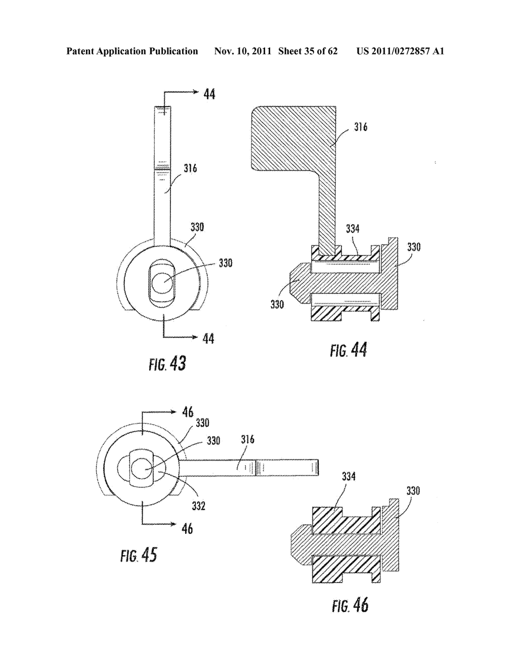 Elevator and Method for Tilting Solid Image Build Platform for Reducing     Air Entrainment and for Build Release - diagram, schematic, and image 36