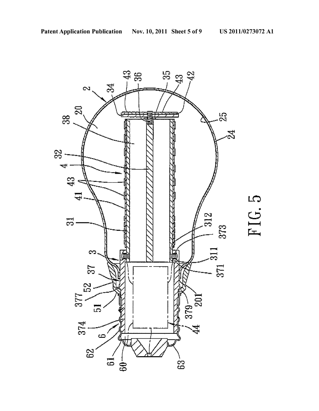 LIGHT BULB - diagram, schematic, and image 06Patents