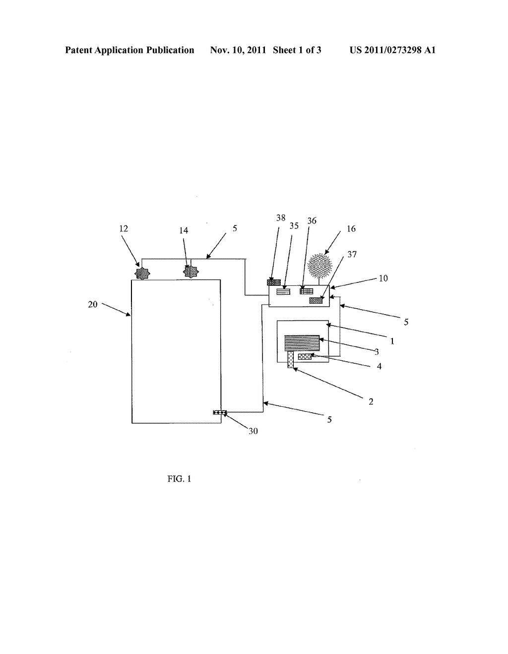 Apparatus and Method for Monitoring Hygiene - diagram, schematic, and image 02