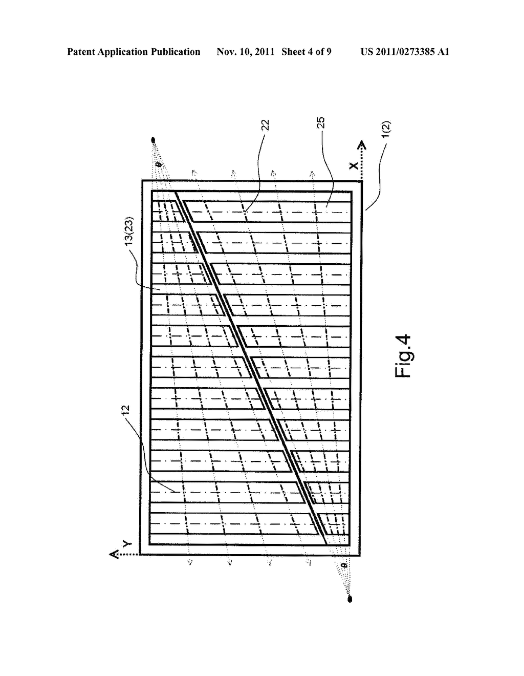 Sensing Structure and Method of Touch Spot of Resistive Touch Panel - diagram, schematic, and image 05
