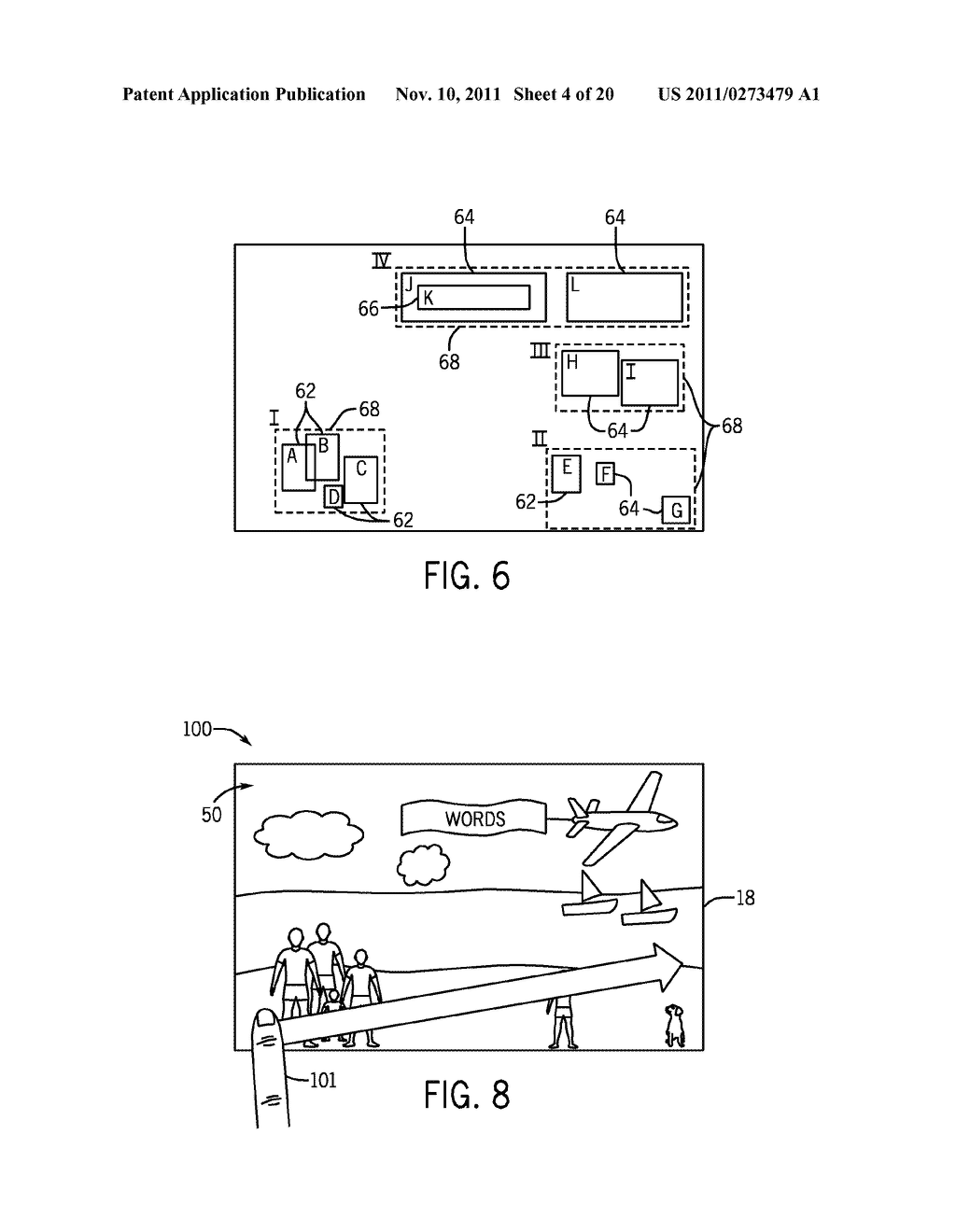 SYSTEMS AND METHODS FOR DISPLAYING VISUAL INFORMATION ON A DEVICE - diagram, schematic, and image 05