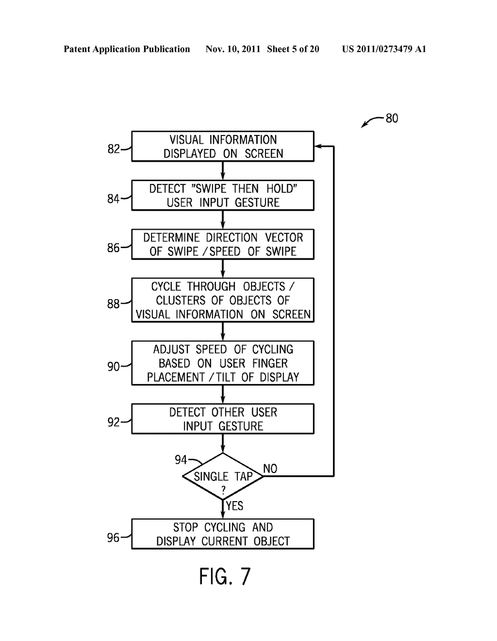 SYSTEMS AND METHODS FOR DISPLAYING VISUAL INFORMATION ON A DEVICE - diagram, schematic, and image 06