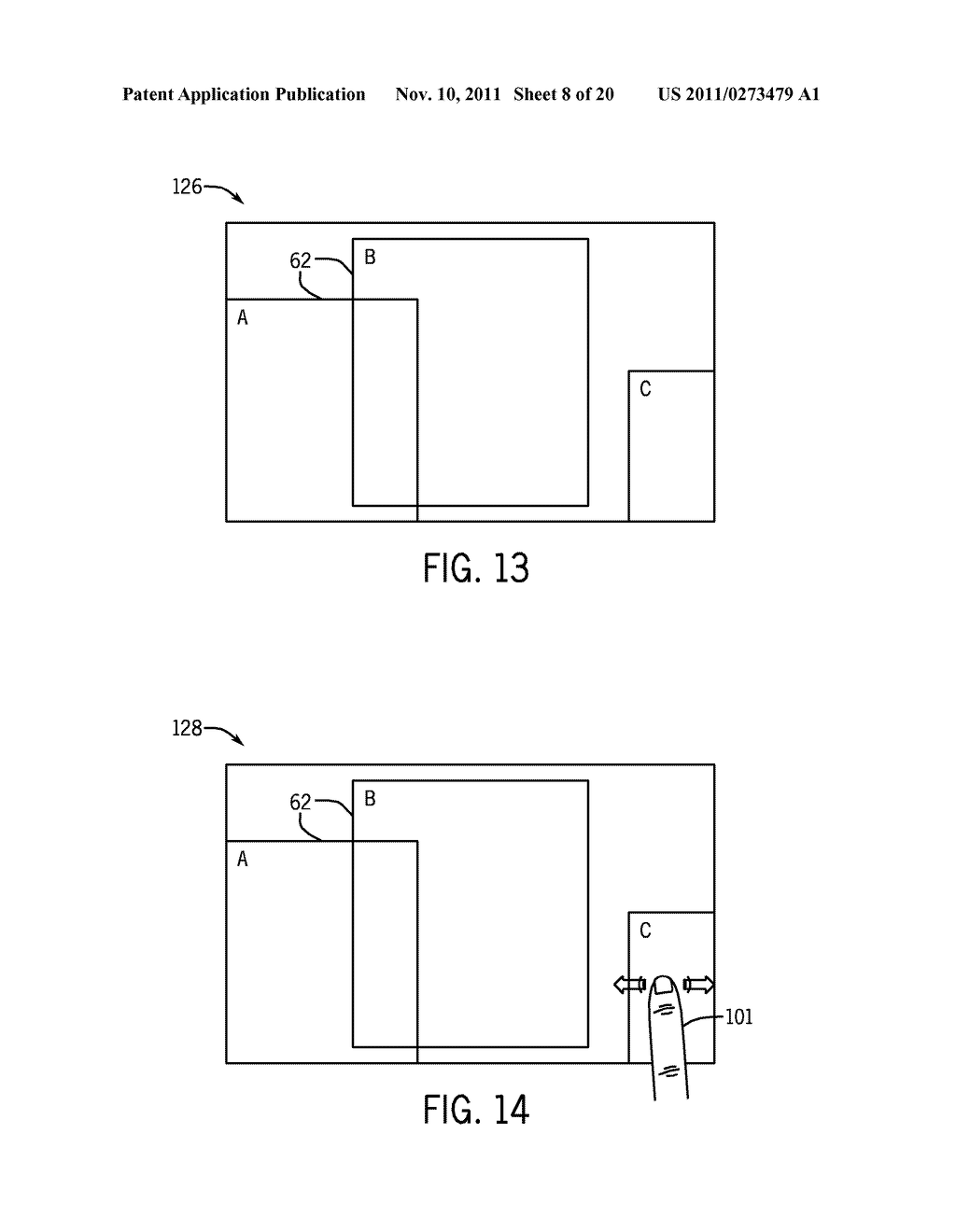 SYSTEMS AND METHODS FOR DISPLAYING VISUAL INFORMATION ON A DEVICE - diagram, schematic, and image 09