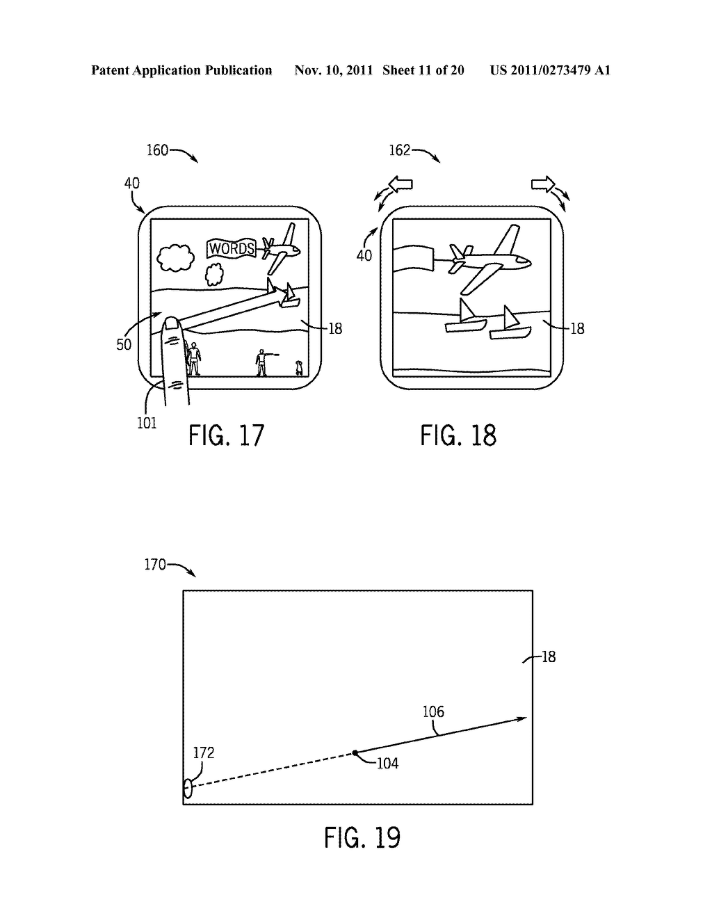 SYSTEMS AND METHODS FOR DISPLAYING VISUAL INFORMATION ON A DEVICE - diagram, schematic, and image 12