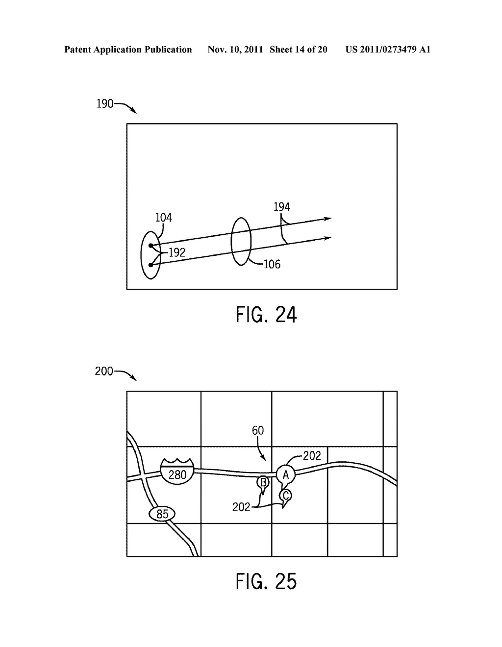 SYSTEMS AND METHODS FOR DISPLAYING VISUAL INFORMATION ON A DEVICE - diagram, schematic, and image 15