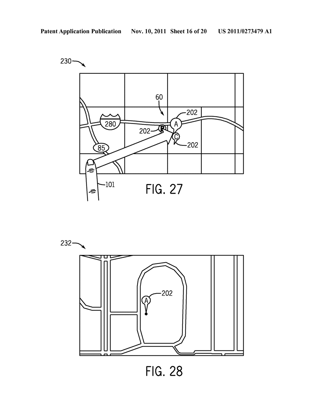 SYSTEMS AND METHODS FOR DISPLAYING VISUAL INFORMATION ON A DEVICE - diagram, schematic, and image 17