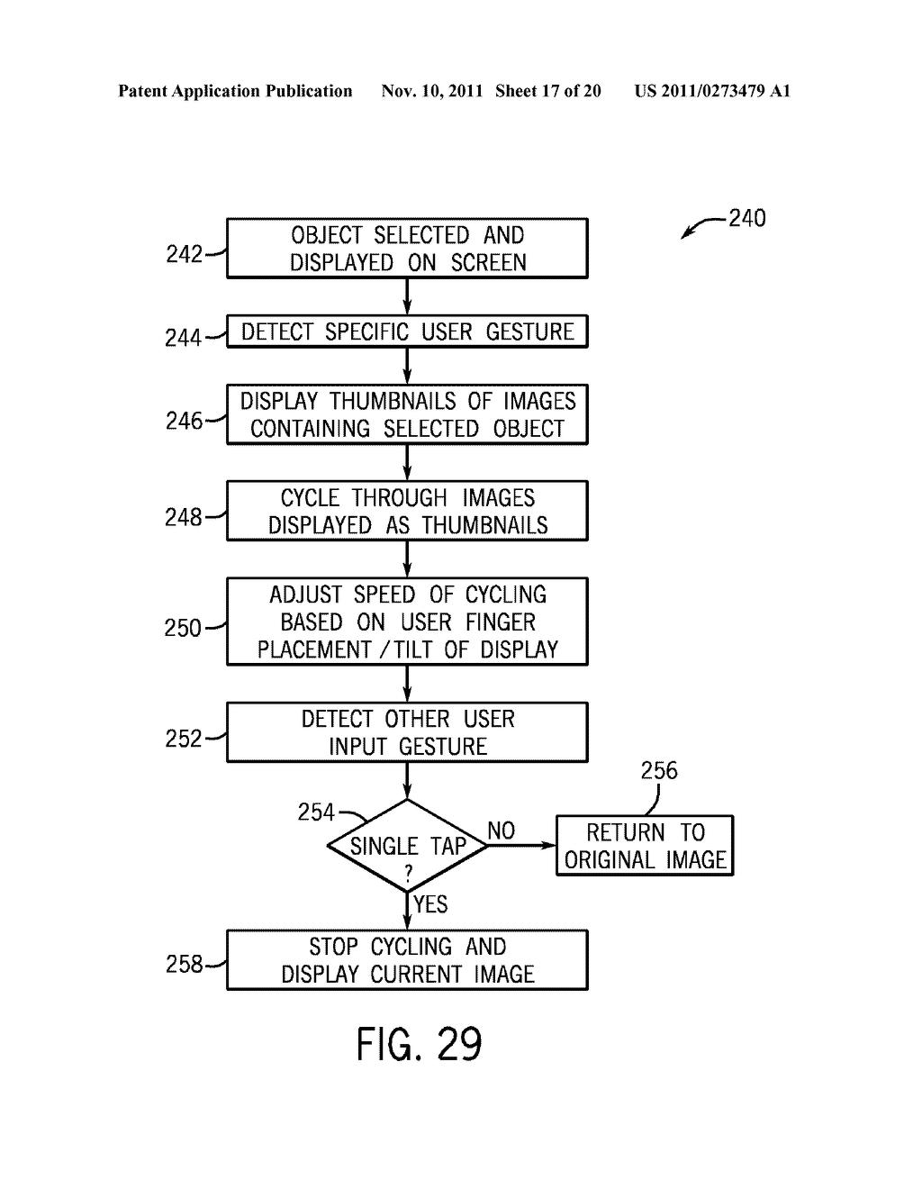 SYSTEMS AND METHODS FOR DISPLAYING VISUAL INFORMATION ON A DEVICE - diagram, schematic, and image 18