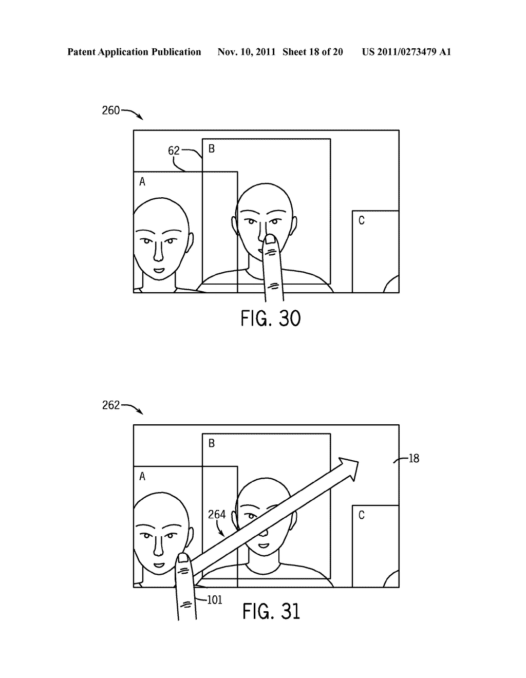 SYSTEMS AND METHODS FOR DISPLAYING VISUAL INFORMATION ON A DEVICE - diagram, schematic, and image 19
