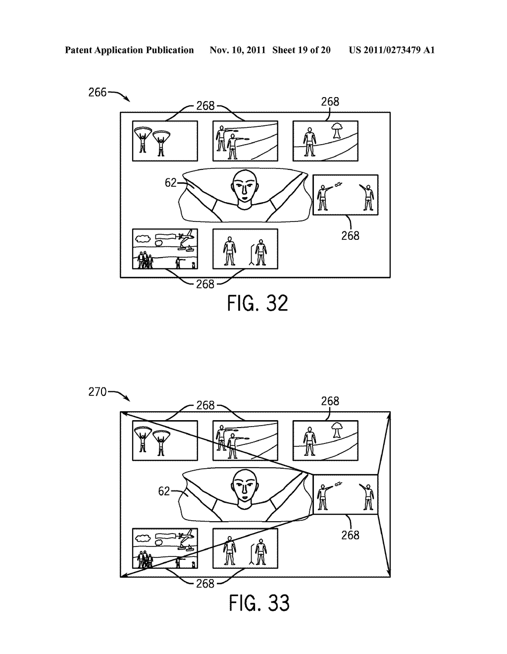 SYSTEMS AND METHODS FOR DISPLAYING VISUAL INFORMATION ON A DEVICE - diagram, schematic, and image 20