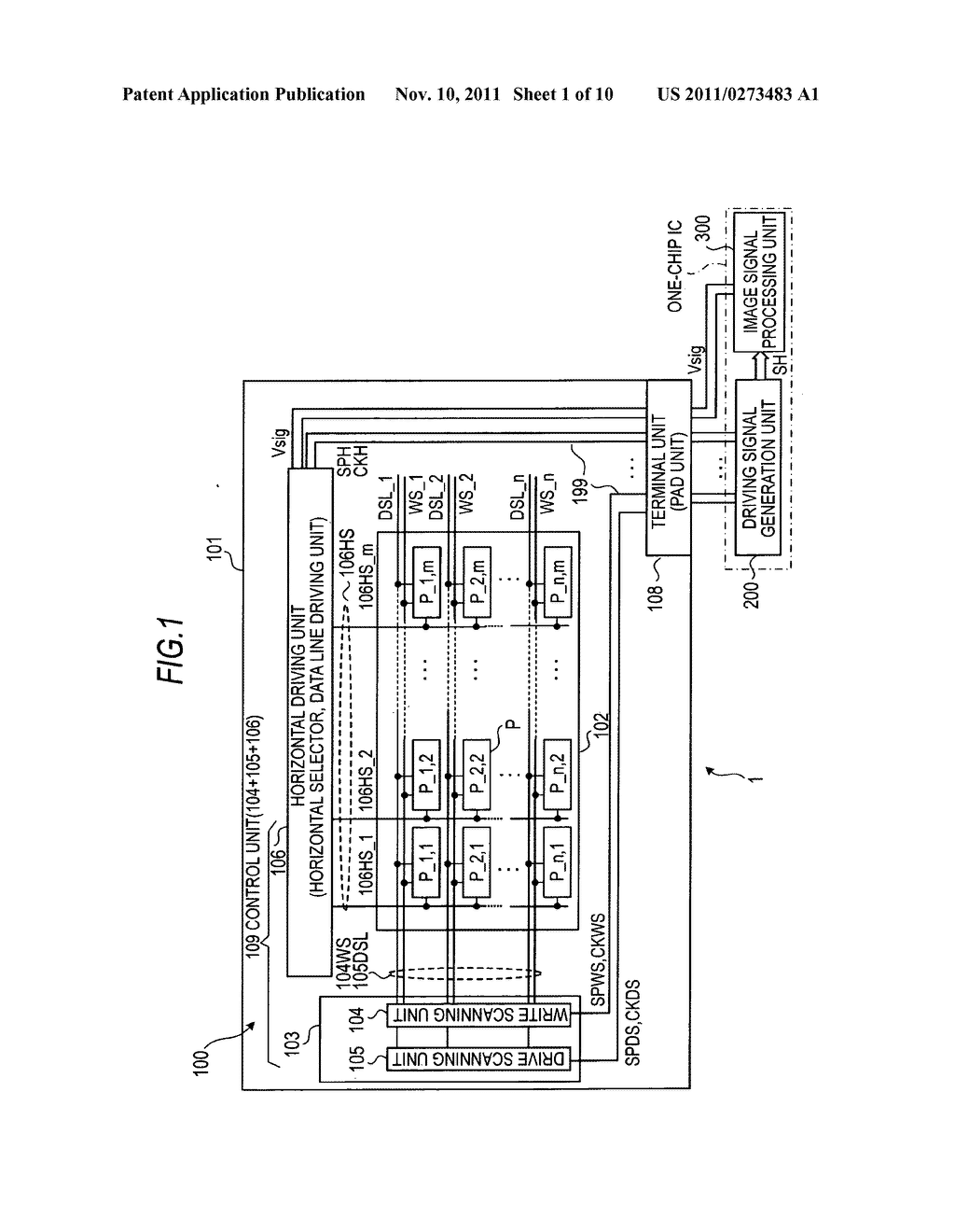 Display apparatus, electronic appliance, and method of driving display     apparatus - diagram, schematic, and image 02