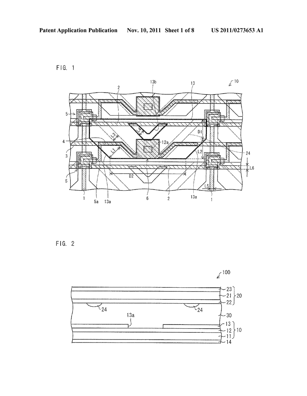 ARRAY SUBSTRATE, LIQUID CRYSTAL DISPLAY DEVICE, ELECTRONIC DEVICE - diagram, schematic, and image 02